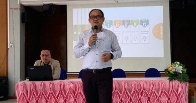 ม.ราชภัฏกาญจนบุรี นิเทศติดตามการใช้แผนหน้าเดียวห้องเรียนอริยะโรงเรียนกองทุนการศึกษา